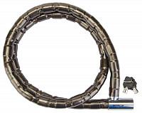 Купить Велозамок на ключе Stels 81201 22*1500 со стальными звеньями., И-0025182