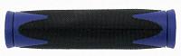 Купить Грипсы VELO 2-х компонентные 130мм черный/синий 5-410363 - СКИДКА 18%., И-000001187